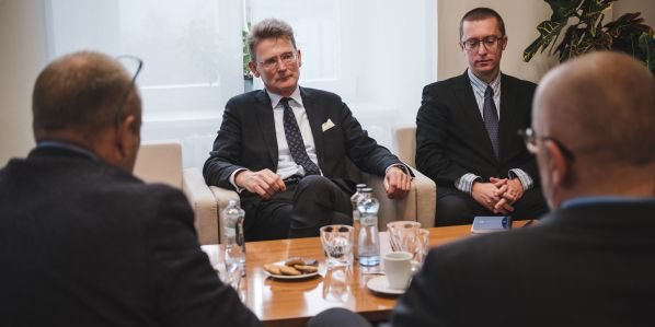 British rethink on relationships could be positive for others, British Ambassadaor Nick Archer said during the meeting in Brno.