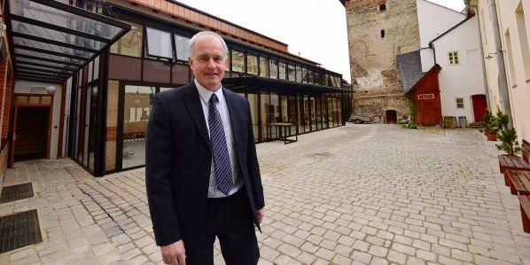 Karol Bayer, proděkan fakulty restaurování Univerzity Pardubice.