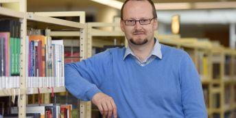 Jan Stejskal z Univerzity Pardubice, autor projektu měření efektivnosti knihoven.