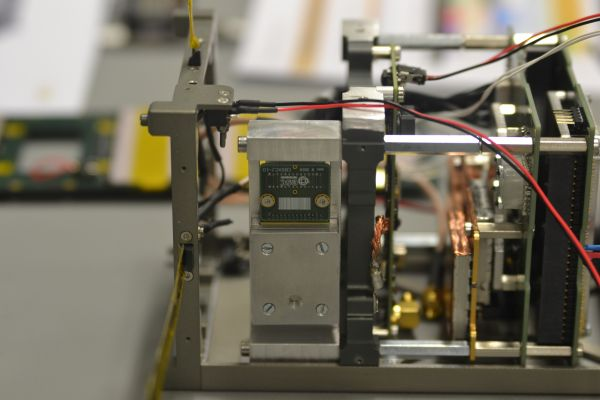Osazení detektorů.