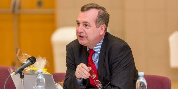 Předseda České konference rektorů Tomáš Zima.