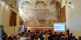 Konferenční sál Romana Prodiho.