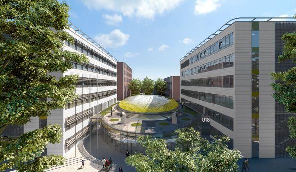 Nová výuková galerie fakulty multimediálních komunikací vznikne ve vzdělávacím komplexu, který UTB staví podle návrhu architektky Evy Jiřičné.