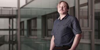 Jan Plucar z Fakulty elektrotechniky a informatiky VŠB-TUO.