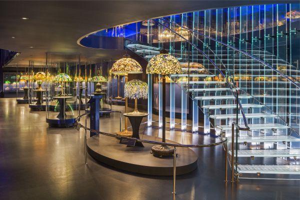 Výstava Tiffany Lamps, New York. Foto: Archiv AI Design.