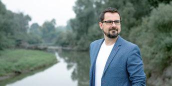 Geoekolog a děkan Přírodovědecké fakulty Ostravské univerzity Jan Hradecký.