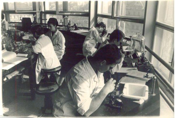 Studenti VFU - historické foto: Archiv VFU