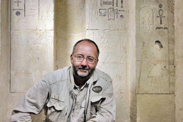 Ředitel Českého egyptologického ústavu Miroslav Bárta. Foto: Archiv M. Bárty
